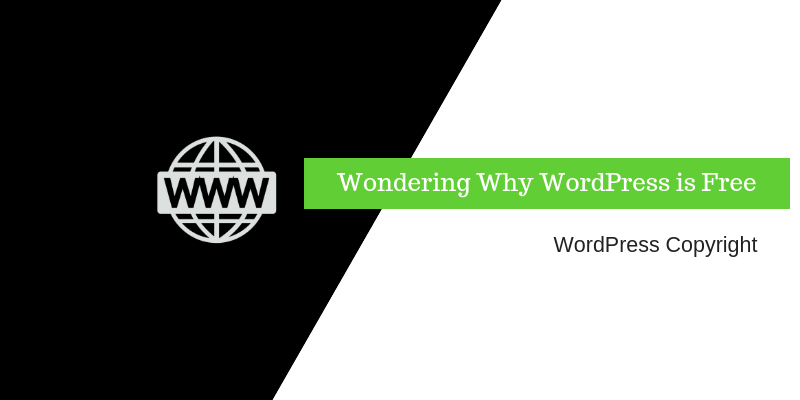 why-is-wordpress-free-to-use?