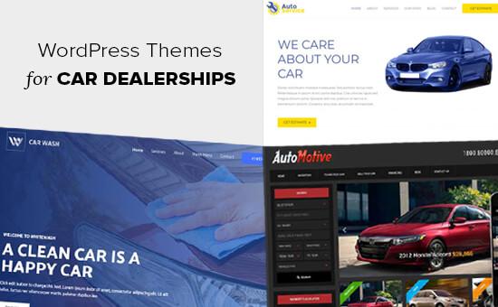 WordPress Themes for Car Dealerships