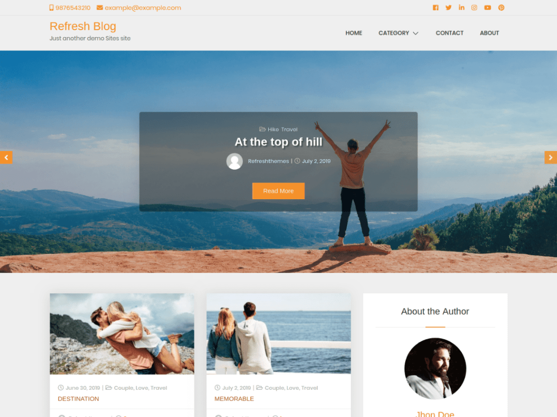 20 Best Free Responsive Wordpress Themes For 2020 Brayve Digital
