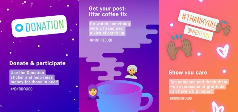 Instagram Launches #MonthofGood Initiative to Inspire Connection During  Ramadan   Brayve Digital