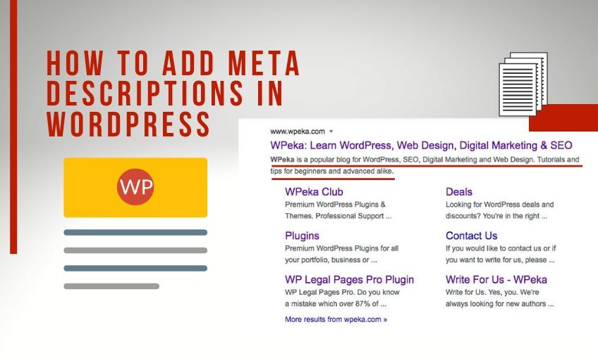 How To Add Meta Descriptions In Wordpress Brayve Digital